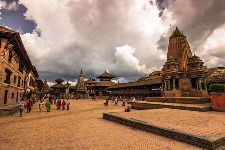 August 18, 2014 - Temple of Bhaktapur, Nepal