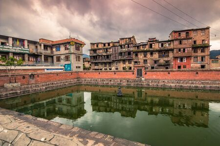 August 18, 2014 - Temple in Bhaktapur, Nepal Editorial