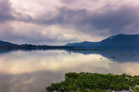 phewa: Coast of Phewa Lake in Pokhara, Nepal