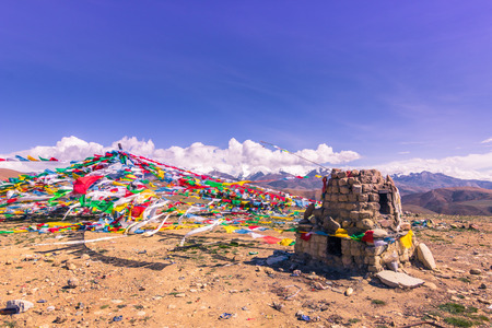 misterious: August 16, 2014 - Buddhist Shrine in the Himalayas, Tibet