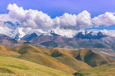 misterious: August 16, 2014 - Panorama of the Himalayas, Tibet