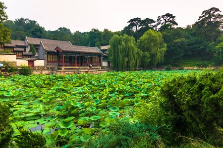 Beijing, China - July 18, 2014: Gardens of the Summer Palace