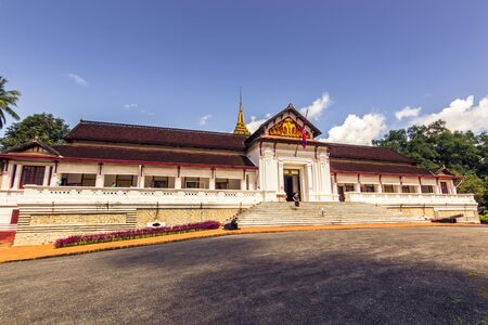 September 20, 2014: Royal palace of Luang Prabang, Laos