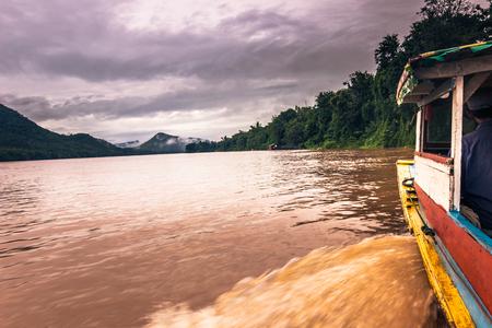 September 21, 2014: Cruising the Mekong river, Laos