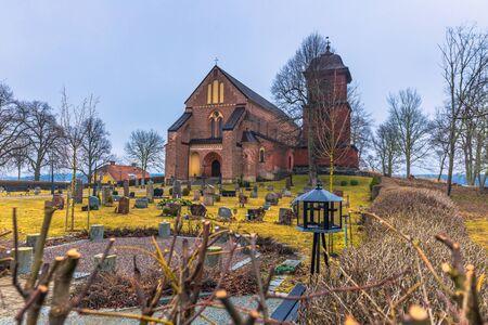 Skokloster, Sweden - April 1, 2017: Skokloster Church, Sweden