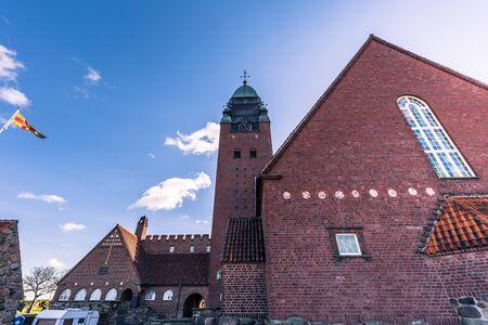 Gothenburg, Sweden - April 14, 2017: Masthugg Church in Gothenburg, Sweden Stock Photo