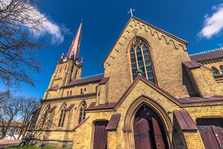 Gothenburg, Sweden - April 14, 2017: Haga Church in Gothenburg, Sweden Stock Photo