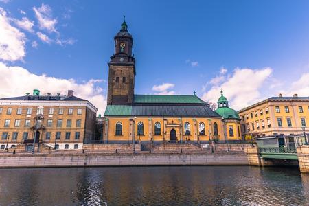 Gothenburg, Sweden - April 14, 2017: German Church of Gothenburg, Sweden