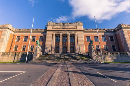 イェーテボリ, スウェーデン - 2017 年 4 月 14 日: スウェーデン ・ ヨーテボリ大学 報道画像