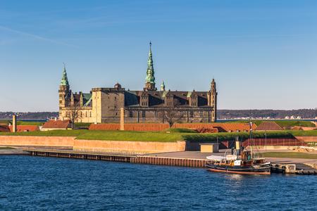 Helsingor, Denmark - May 01, 2017: Kronborg castle in Helsingor