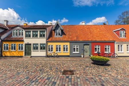 オーデンセ, デンマーク - 2017 年 4 月 29 日: 古い町オーデンセ