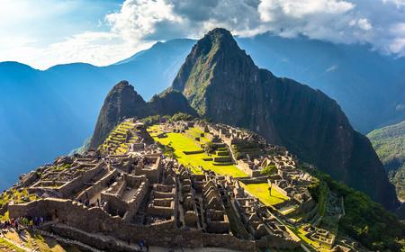 Machu Picchu, Peru - Ancient Ruins of Machu Picchu, Wonder of The World, Peru