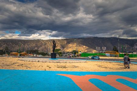 Mitad del Mondo: City of Mitad del Mondo, Ecuador