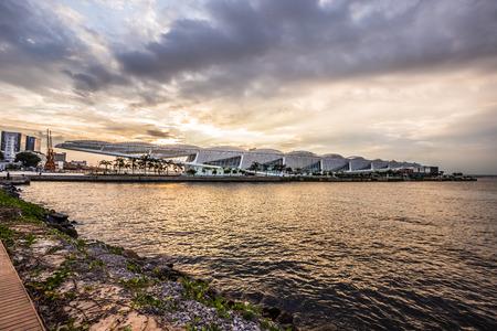 Rio de Janeiro - June 21, 2017: Museum of Tomorrow in Rio de Janeiro, Brazil