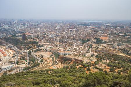Panoramic view of the city of Oran, Algeria