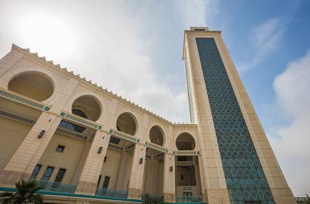 Ibn Badis central mosque of Oran, Algeria Stok Fotoğraf - 97682156