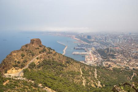 Panoramic view of the city of Oran, Algeria Stok Fotoğraf - 97683584