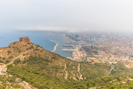 Panoramic view of the city of Oran, Algeria Stok Fotoğraf - 97683788