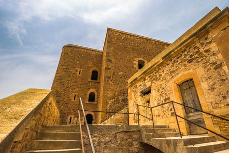 Oran - June 02, 2017: Holy Cross Fort at the top of the city of Oran, Algeria Editöryel