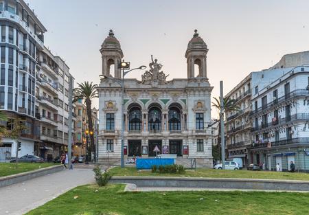 Oran - June 02, 2017: The Opera building of Oran, Algeria