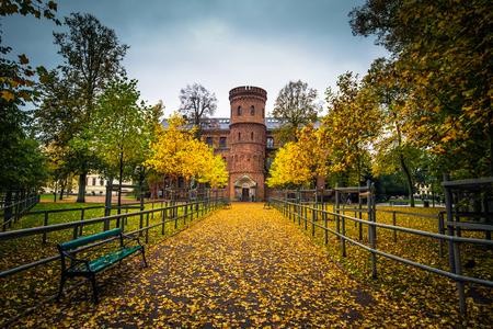 Lund - October 21, 2017: Royal residence of Lund, Sweden
