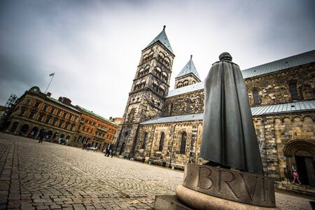 Lund: The gothic cathedral of Lund, Sweden