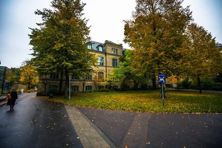 Lund: Historic center of Lund, Sweden
