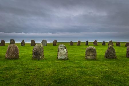 Ales Stones: The iron age Ales Stones in Skane, Sweden