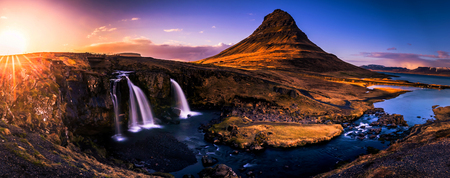 Kirkufjell mountain in Snaefellsjoekull national park, Iceland Фото со стока