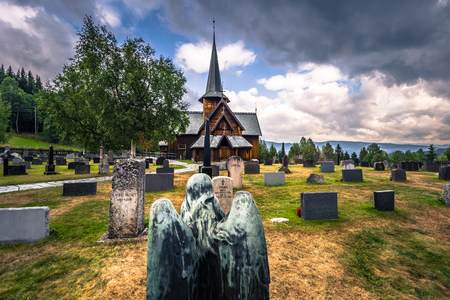 Hedalen - July 28, 2018: The Wonderful Hedalen Stave Church, Norway Éditoriale