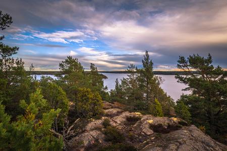 Wild landscape of the Swedish Archipelago, Sweden