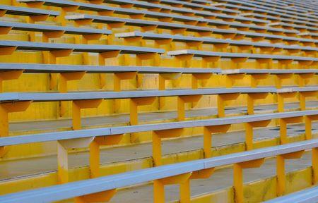 bleachers: Yellow Bleachers