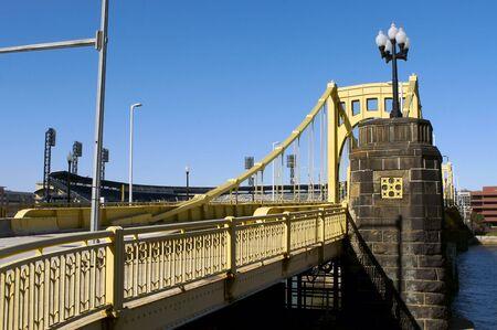 Clemente Bridge in Pittsburgh