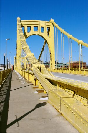 Clemente Bridge in Pittsburgh