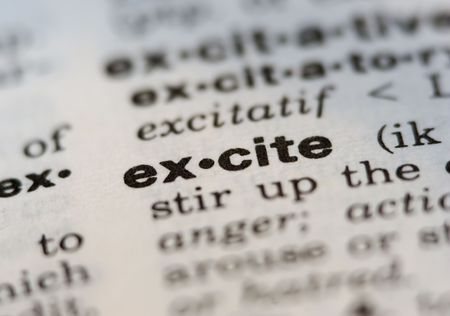 excite definition fro old dictionary