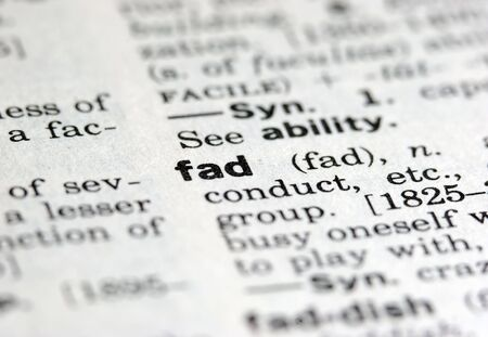Fad definition from dictionary