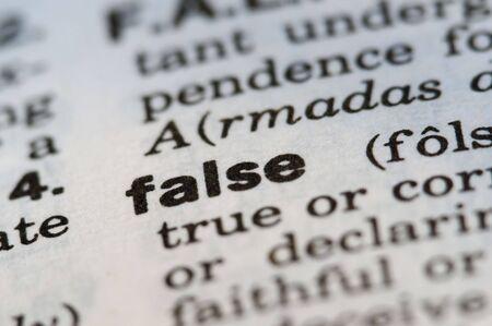 definici�n: Definici�n falsa del viejo diccionario