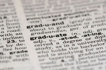 Graduate Definition from Dictionary