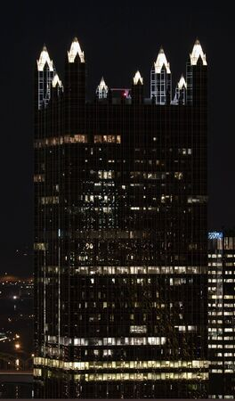 Pittsburgh Glass building at Night