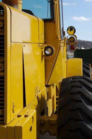 front loader: Frente cargador de detalle