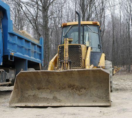 front loader: Frente Loader Bulldozer