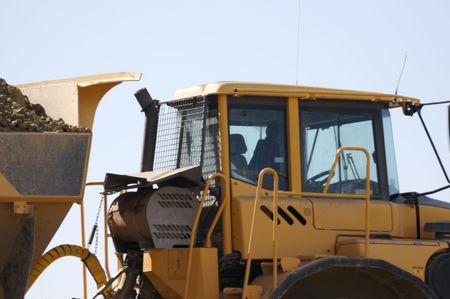 dump truck: Heavy Dump Truck Detail