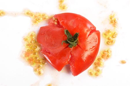 Tomato smash photo