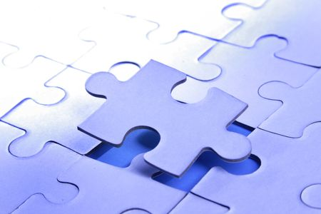 A jigsaw puzzle makes a good metaphor for any problem to solve
