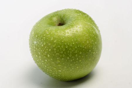 granny smith apple: Granny smith apple Stock Photo