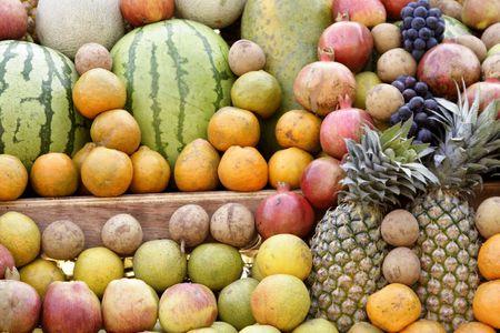 Fresh fruits Stock Photo - 2495076
