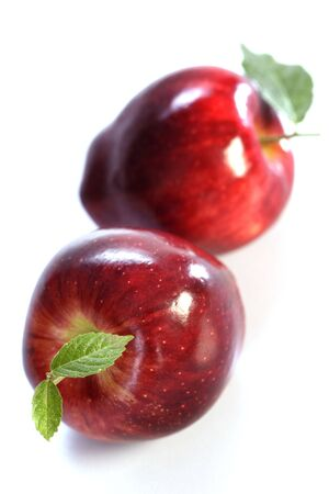 Red delicious apples photo