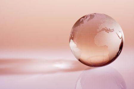 Globe showing the world Фото со стока