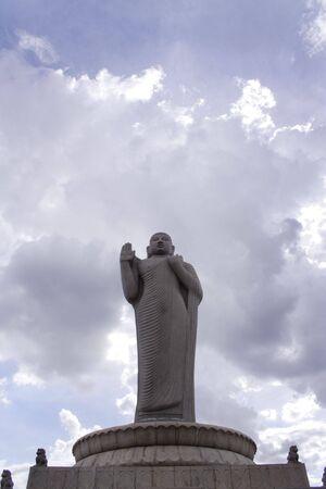 gautama: Statue of Gautama Budha Stock Photo