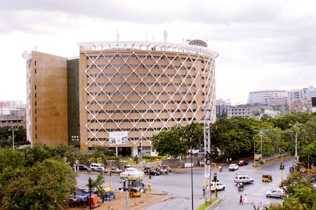 Cyber towers is International technological park in Hyderabad,India